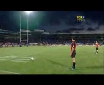 Dan Carter UNBELIEVABLE KICK!