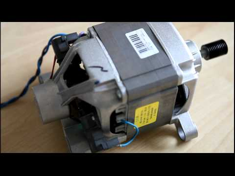 washing machine motor wired in as series motor suicide On universal washing machine motor