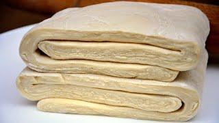 БЫСТРОЕ СЛОЕНОЕ ТЕСТО За 15 минут! СЕКРЕТ Приготовления ✧  Puff pastry in 15 minutes ✧ Марьяна