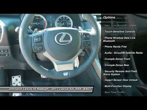 2017 LEXUS NX Turbo F SPORT for sale in Raleigh NC - YouTube