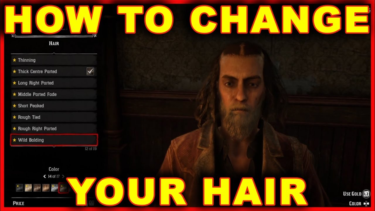 Red Dead Online: How to Change Hair & Beard