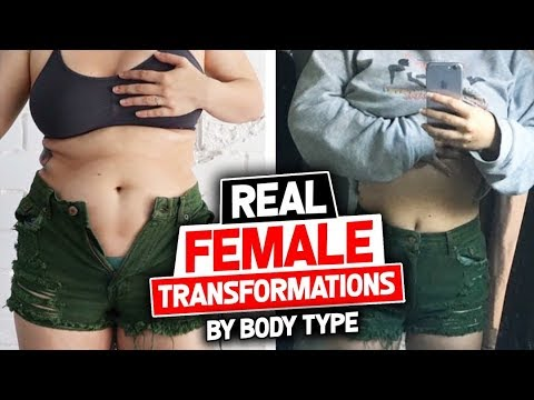 REAL Female Transformations by Body Type | Gauge Girl Training