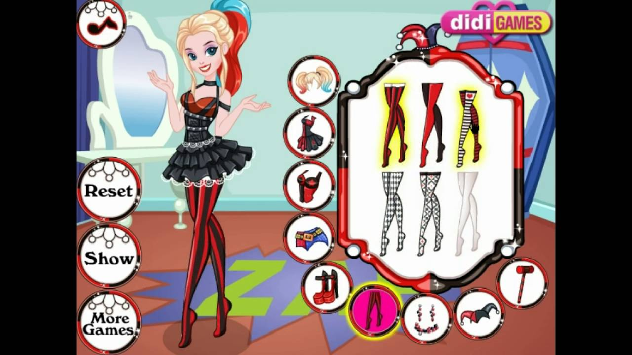Dress up y8 and makeup - Harley Quinn Dress Up Y8 Com Online Games By Malditha