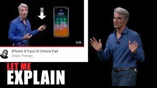 iPhone X Face ID Unlock Fail   Let Me Explain