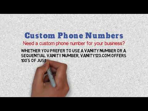 Attractive How To Get Custom Phone Numbers