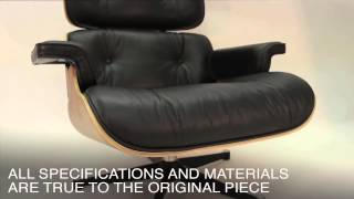 Eames Lounge & Ottoman Reproduction - www.modern-source.com