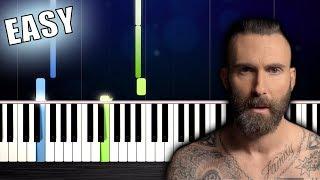 Maroon 5 - Memories - EASY Piano Tutorial by PlutaX