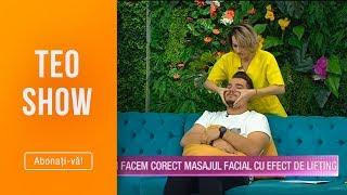 Teo Show (15.10.2019) - Andreea Chis, cum facem corect masajul facial cu efect de lifting?
