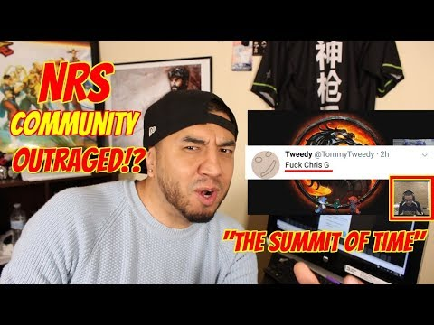Sonic Fox DEFENDS Shots FIRED about NRS Community! Chris G gets all off his chest! Button Check