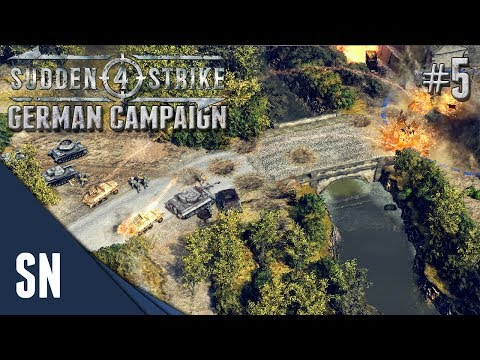 Battle #5: The Falaise Pocket! - Sudden Strike 4 - German Campaign Gameplay