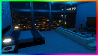 GTA Online AMAZING Custom Living Interiors Concept With NEW Hotel System & MORE! (GTA 5)