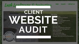 How To Do A Website Audit For A Client (RIPPING Apart My Clients' Site)
