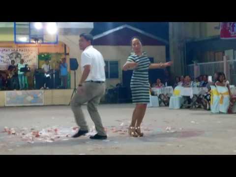 Kuratsa Dance : Guiuan Mayor Christopher Sheen Gonzales in Sulangan