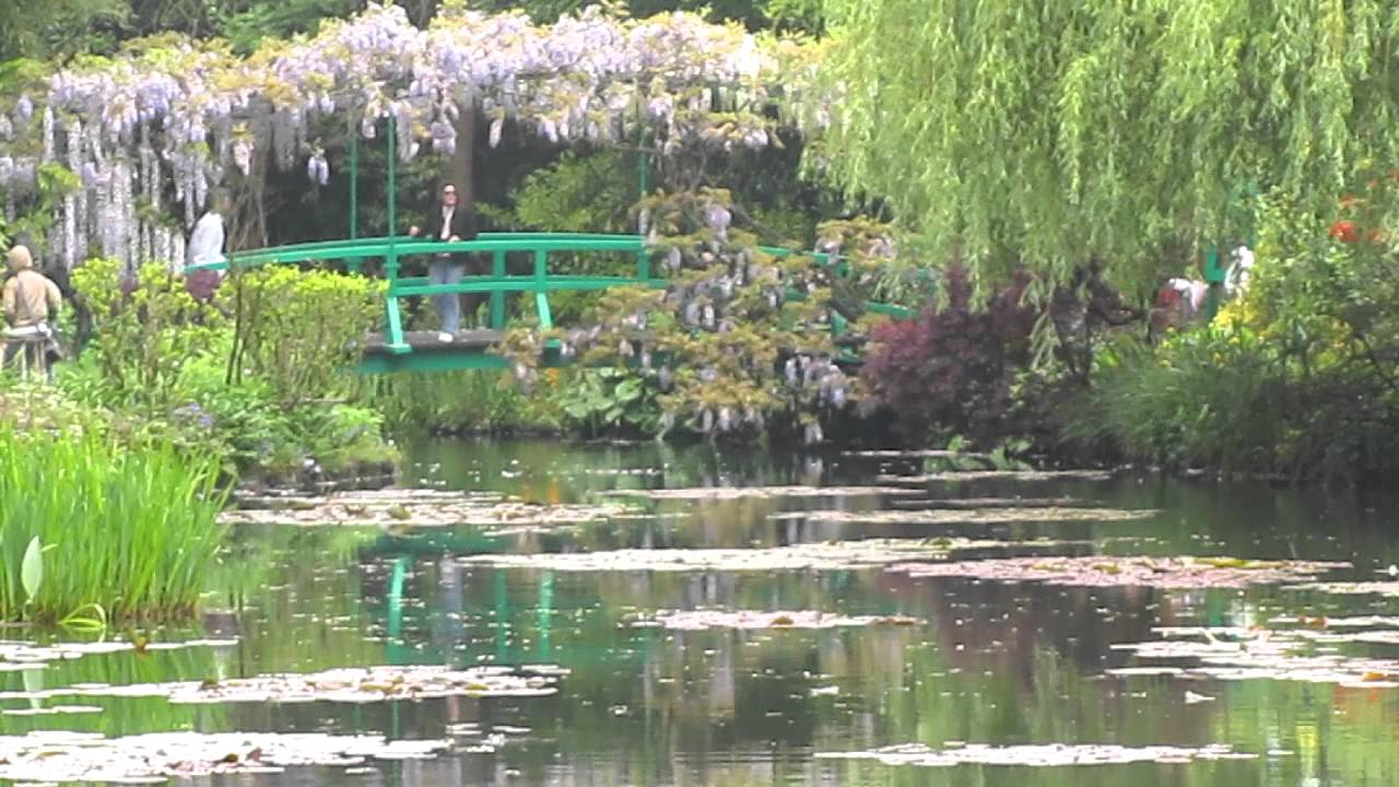 Le pont dans le jardin de 39 eau claude monet the bridge in the water garden youtube - Livre le jardin de monet ...