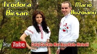 Teodora Birsan si Mario Buzoianu - Colaj Cu Cele Mai Ascultate Melodii 2018 (Etno Hits)