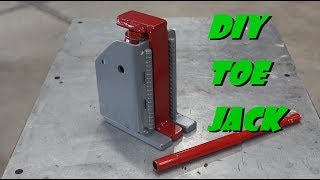 DIY Toe Jack
