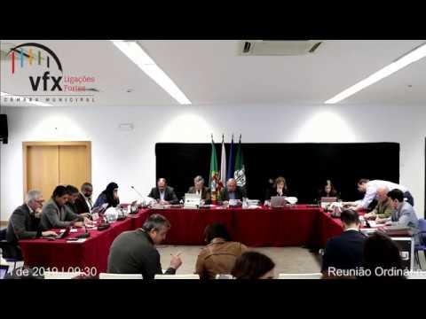 Reunião ordinária e pública da CMVFX (03/04/2019 - Castanheira do Ribatejo)
