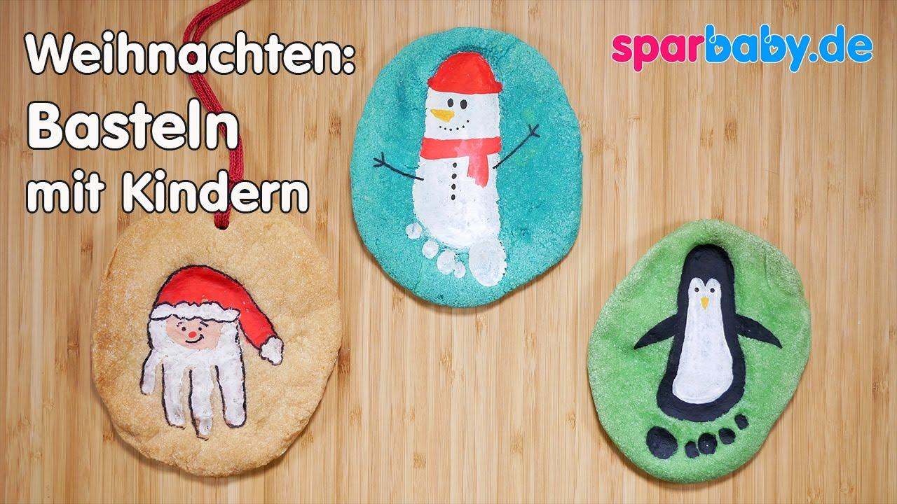 Diy Weihnachten Basteln Mit Kindern Salzteigbilder Youtube