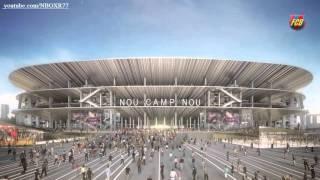 شاهد كيف سيبدو ملعب الكمب نو الجديد ملعب نادي برشلونة - خرافي HD
