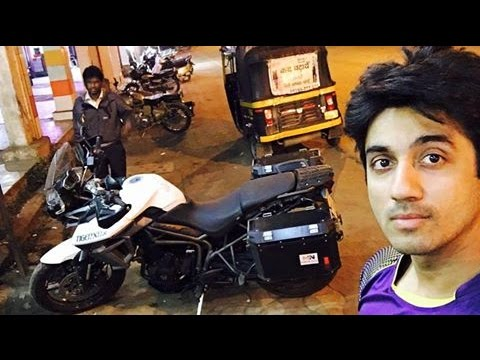 Mumbai To Kolkata Part 1 | Triumph Tiger | Nagpur