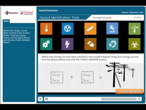 Hazard Awareness Online Training