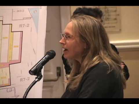 Susan Howard Testifies at NYC Planning Commission rezoning