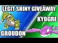 Obtaining Shiny Groudon And Shiny Kyogre Free Codes Mp3 Gratiseu