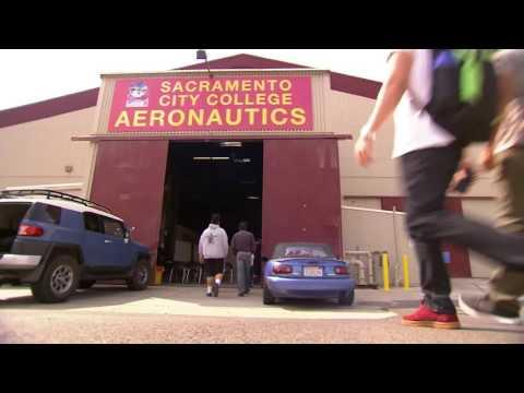 Los Rios/Sacramento City College Honored for Aeronautics Program