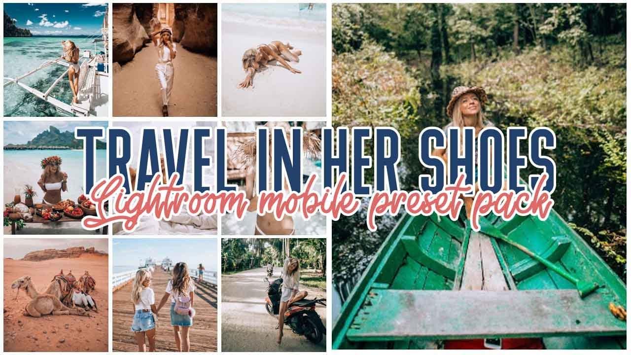 New lightroom tutorial @travelinhershoes lightroom mobile preset pack