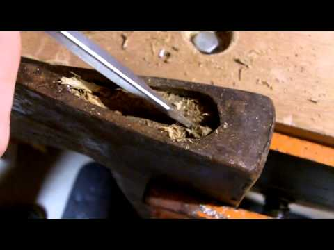 Axe Restoration - Removing the Axe Heads   1 B4Time