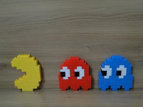 Lego Pac-man Stop-motion