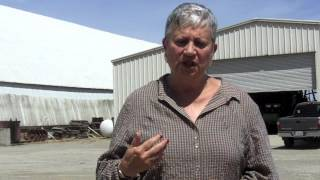 State Official tours a Sacramento Valley rice field