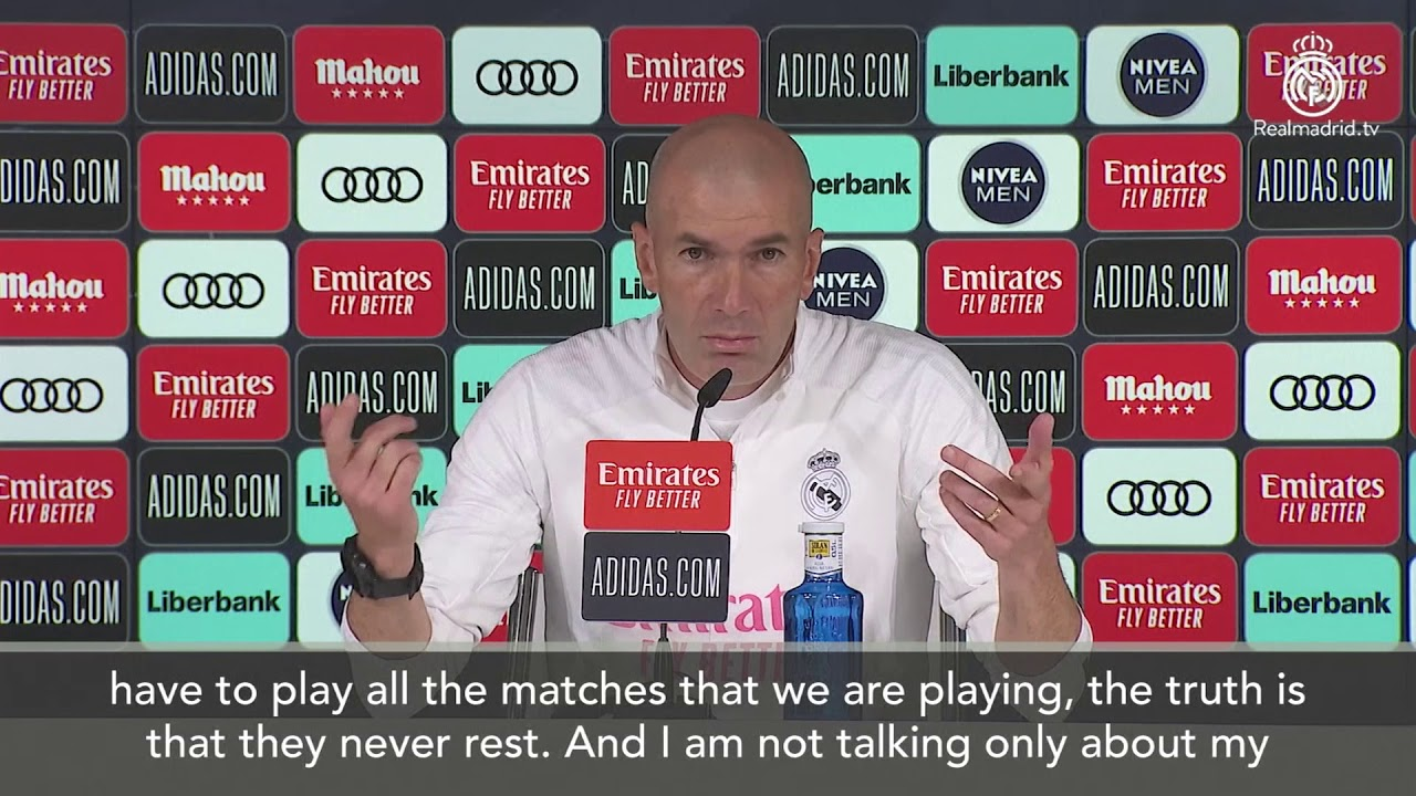 Sorry Zizou, but it's time to worry about Real Madrid after another ...