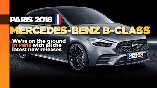 New Mercedes-Benz B-Class arrives in Paris