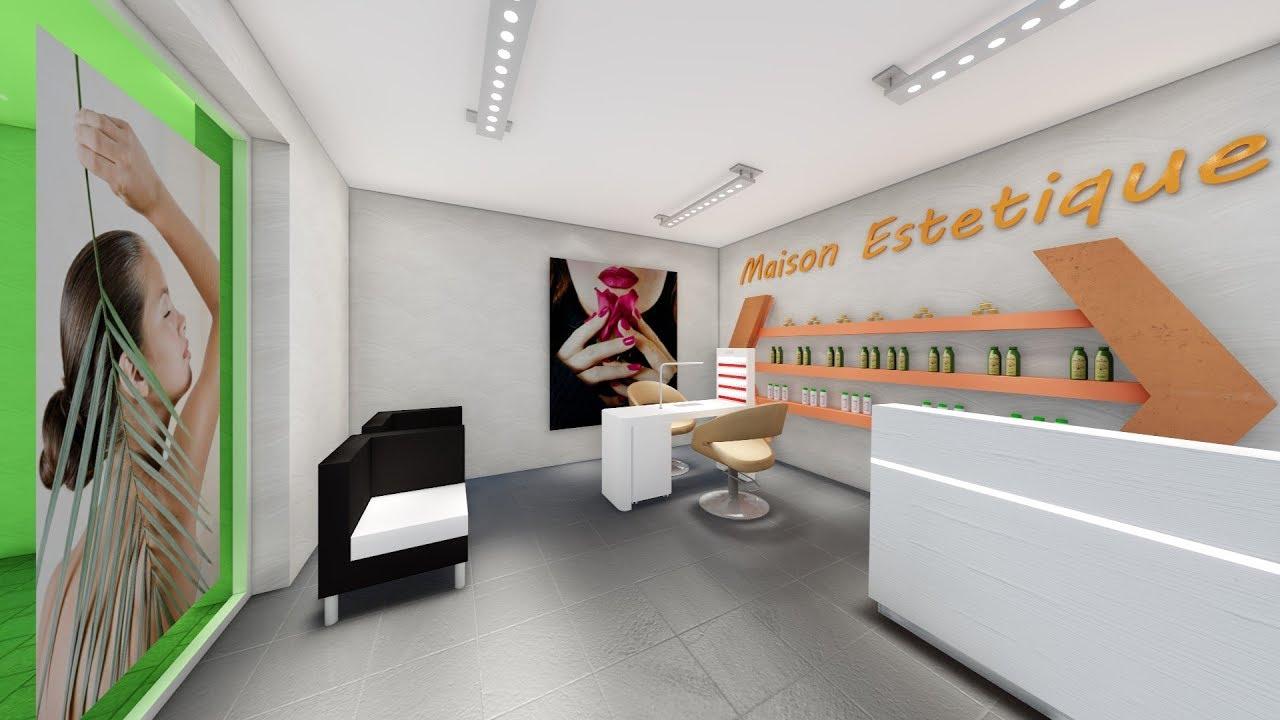 Arredamento centro estetico progetto di akorj youtube for Arredamento estetica