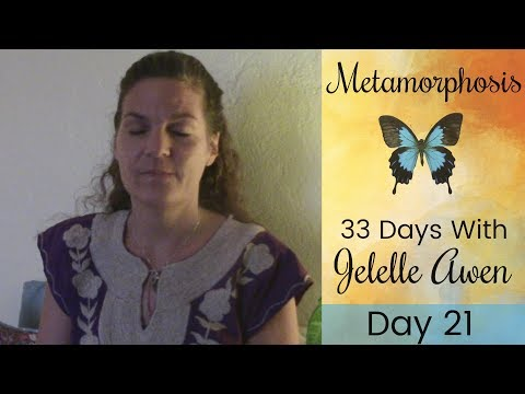 Activating Your Ascension Chakras Guided Meditation: Day 21 - 33 Days W/Jelelle Awen