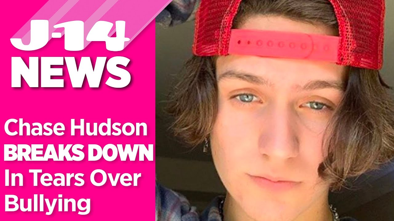 Chase Hudson Breaks Down In Tears Opens Up About Being Bullied