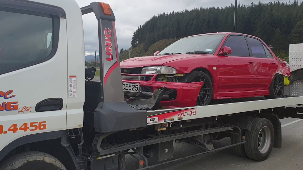 Five cars damaged as road roller hits cars in Upper Hutt