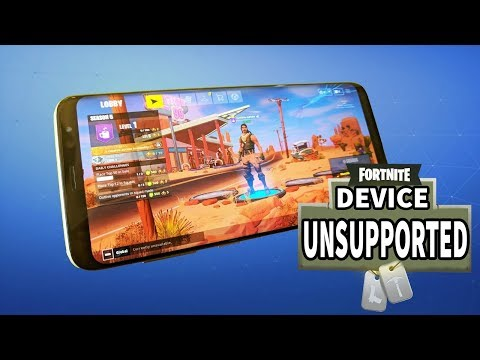 How To Install Fortnite To Unsupported Devices Like Samsung Galaxy A50, A30, M20, M30, Note5 E.T.C