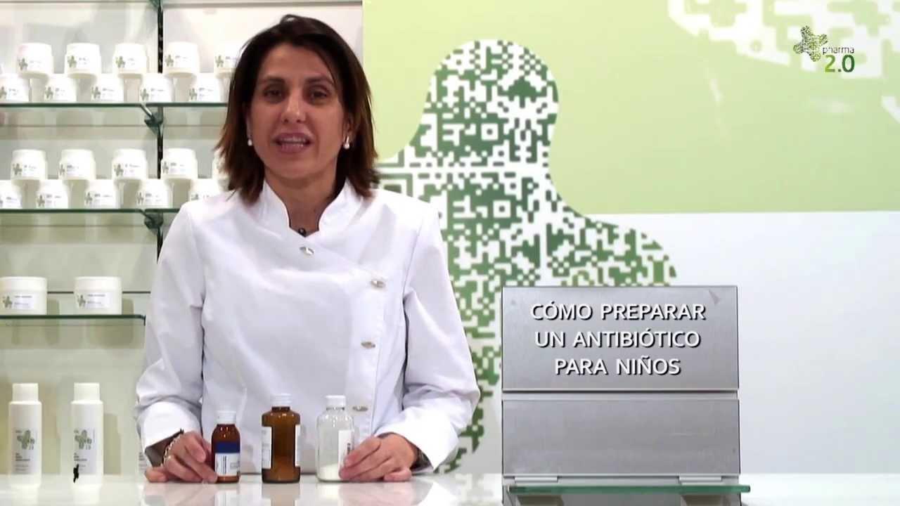 Como Preparar Un Antibiotico Para Ninos Youtube