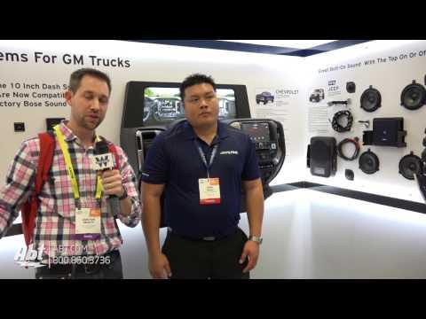 CES 2017 - Alpine PSS-21-WRA Jeep Addon Sound System