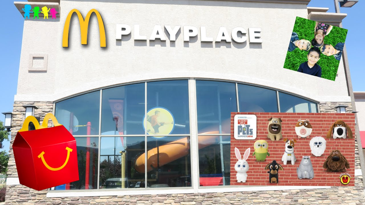 McDonald's Play Place Indoor Playground for Kids Happy ...