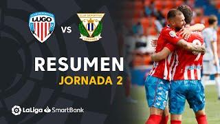 Resumen de CD Lugo vs CD Leganés (2-1)