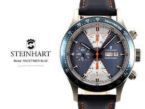 STEINHART APOLLON Titanium automatic chronograph watch | eBay