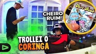 O CORINGA QUIS ME BATER DEPOIS DESSA TROLLAGEM!!