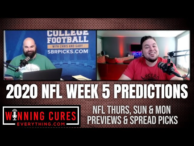 NFL 2020 Week 5 Spread Picks, Previews & Predictions