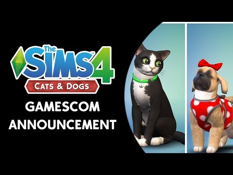 The Sims 4 Cats & Dogs: Official Gamescom Announcement