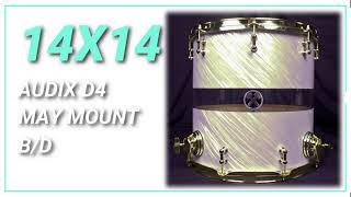 14x14 Hybrid Floor Tom HD Sound Sample
