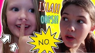 6 YEAR OLD LET THE SECRET OUT! AUSTRALIA DAY 3!