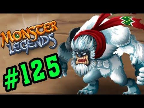 Monster Legends Game Mobiles - Đánh Bại Người Tuyết Bigfoot - Thế Giới Quái Vật #125